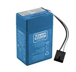Power Wheels Blue Battery 6V Toddler 00801-1900 6 Volt  Fish