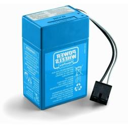 Power Wheels Blue Battery 6V Toddler 00801-1900 6 Volt Fishe