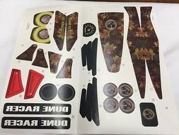 Power Wheels Dune Racer Decal Label Sheet Genuine Fisher Pri