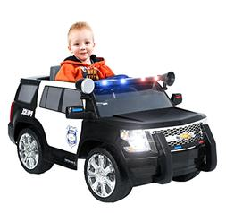 power wheels chevy tahoe police suv ride