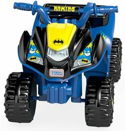 Power Wheels FisherPrice Batman Lil Quad RideOn