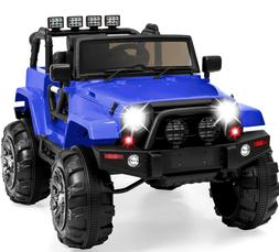 Power Wheels For Boy Jeep Electric Car Kids Ride On Toys Out