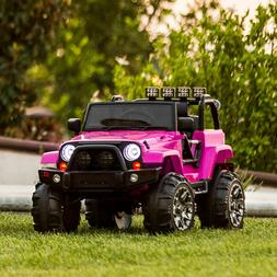 Power Wheels For Girl Jeep Electric Car Kids Ride On Toys Ou