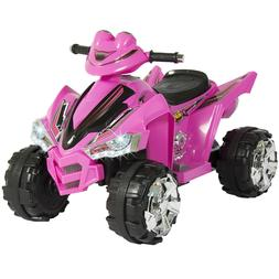 Power Wheels For Girls 12V Kids Battery Powered Electric 4-W