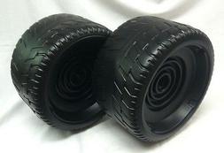 Power Wheels W6203 2 Tires Barbie Escalade 1 left & 1 right
