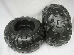 Power Wheels J5248-2359 Kawasaki Brute Force Rear Tires 2 Pi