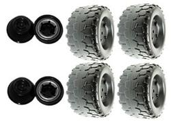 Power Wheels Jeep Wrangler Tires B7659-2459 4 Pack + 4 Retai