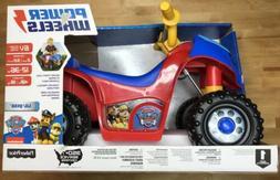 Power Wheels Lil Quad Paw Patrol Toddler ATV Car Kids Electr