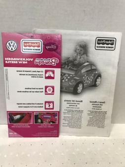 Power Wheels Minnie Mouse Bow-tique Owner's Manual Fisher~