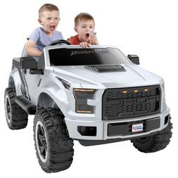 Power Wheels Ford F-150 Raptor Extreme, Silver By Dreamsales