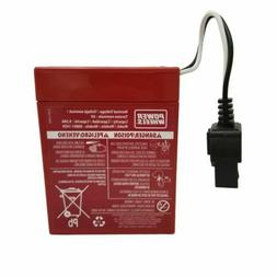 Power Wheels Red 6 volt 9.5ah Battery for Ride-on Toys
