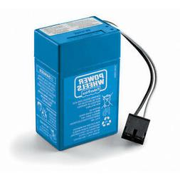 Power Wheels Toddler 6volt Rechargeable Replacement Battery