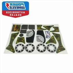 Power Wheels X3050 Fisher Price Camo Lil Quad Label Decal Sh