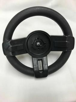 Power Wheels Y8812 Fisher Price Princess Mustang Black Steer