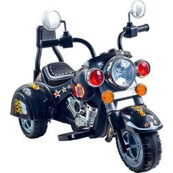 Powered Ride on Toys 3 Wheel Chopper Trike Motorcycle Electr