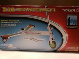 Razor PowerWing DLX Scooter, Blue Swirl
