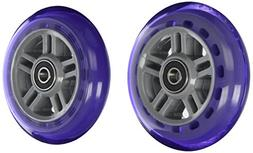Razor PU A Scooter Series Wheels with Bearings , Purple