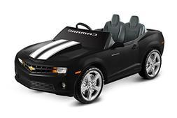 Racing Camaro 12V Battery Powered Car, Black