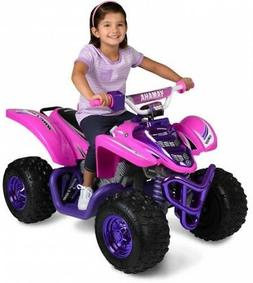 Ride On Toys Raptor ATV Purple 12V Rechargeable Battery-Powe