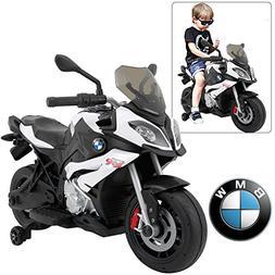 Rastar BMW S1000 XR Motorcycle Kids Ride On Car White | Offi