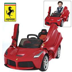 Rastar Ferrari LaFerrari Kids Ride On Car with Remote Contro