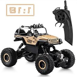 Tobeape RC Car, Wireless Remote Control Off Road RC Toy Car,