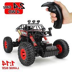 Jellydog Toy Remote Control Truck , RC Rock Crawler, RC Clim