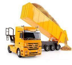 RC Dump Truck 1:32 10 <font><b>Wheel</b></font> Tilting Cart