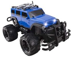 RC Truck Jeep Big Wheel Monster Remote Control Car with LED