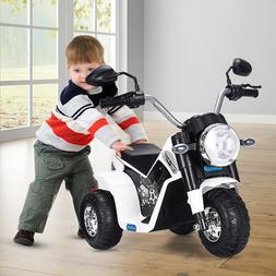 Red Kids Ride On Motorcycle 6V Toy Battery Powered Electric