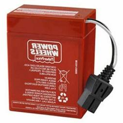 REPLACEMENT BATTERY FOR FISHER PRICE SUZUKI QUAD SPORT POWER