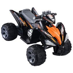 Giantex Kids Ride On ATV Quad 4 Wheeler Electric Toy Car 12V