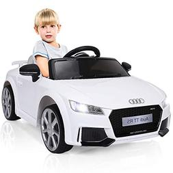 Costzon Kids Ride On Car, Licensed 12V Audi TT RS, Remote Co