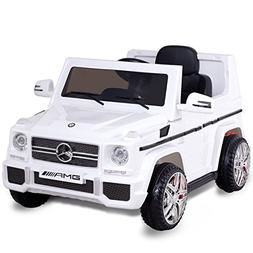 Costzon Kids Ride On Car, Licensed Mercedes Benz G65, 12V Ba