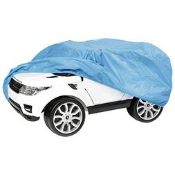 TIURE Ride On Kids Car Cover, Weather UV Rain Snow Water Out