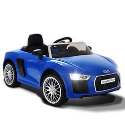 Costzon Kids Ride On Car, Licensed Audi R8 12V Battery Power