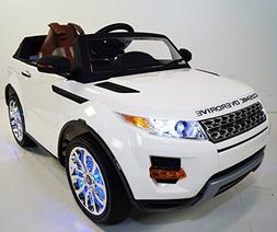 ride car range rover kids model sx118 battery toy control pa