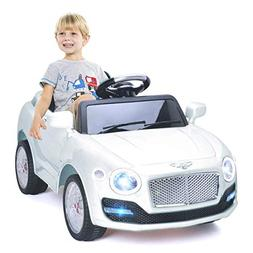 Costzon Ride On Car, 6V Battery Powered Vehicle, Manual/ 2.4