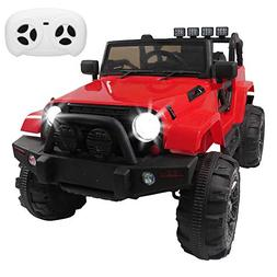KepooMan Kids Ride On Cars 12V Remote Control Electric Truck