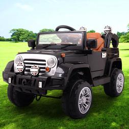 Kids Ride on Jeep style 12V Battery Powered Electric Car wit