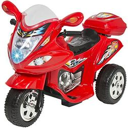 Kids Ride On Motorcycle 6V Toy Battery Powered Electric 3 Wh