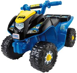 Ride on Cars Power Wheels Batman Lil' Quad Electric Motorize