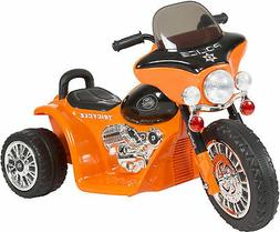 Ride on Toy, 3 Wheel Mini Motorcycle Trike for Kids, Battery