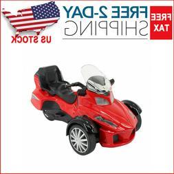 Ride on Toy 3 Wheel Trike Chopper Motorcycle for Kids Batter