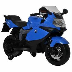 Ride On Toy BMW Motorcycle Blue 12v Battery Powered Motorbik