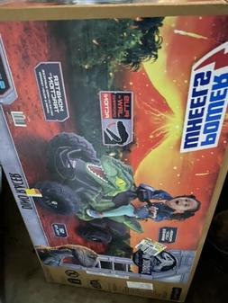 Ride On Toy Power Wheels Jurassic World Dino Racer Kids Bike