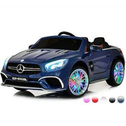 Ride On Toys for Toddlers Mercedes Remote Control AUX MP4 Sc