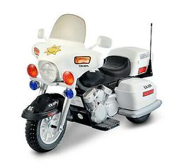 Ride On Police Toy Motorcycle 12v Battery Powered Electric C