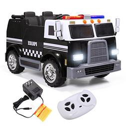 ride police truck emergency engine