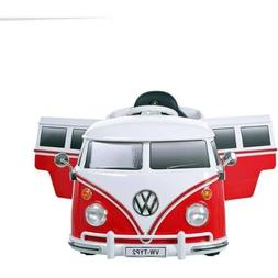 RollPlay 6V VW Bus Battery Powered Ride-On kids car